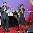 S.E.M l'Ambassadeur du Cap Vert et Jacqueline