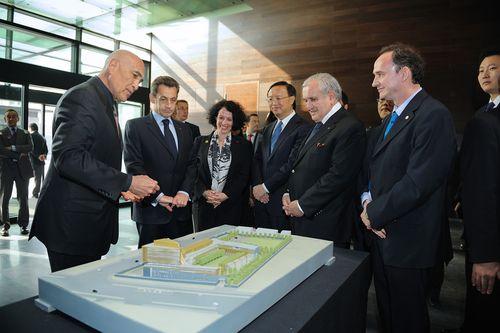 fran ais d 39 asie oc anie inauguration de la nouvelle ambassade de france p kin par le. Black Bedroom Furniture Sets. Home Design Ideas