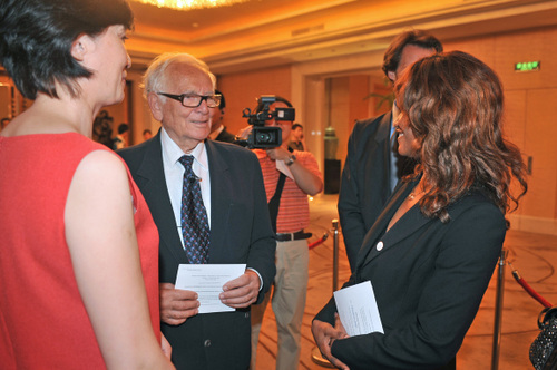 Avec Pierre Cardin