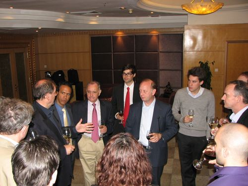 Avec le délégué UMP Chine et le Délégué Jeunes Pops