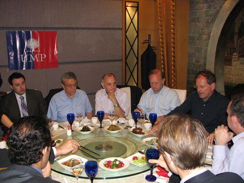 Un dîner républicain