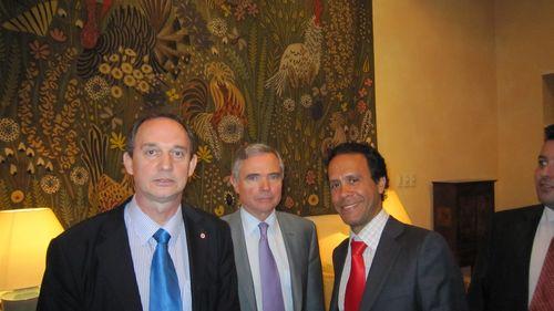 Avec le vice-président de l'UMP