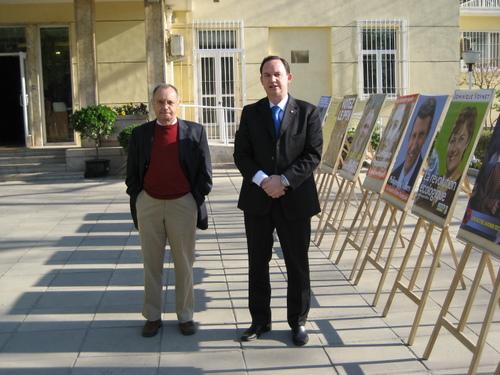 L'assesseur et le délégué du candidat Sarkozy pour le premier tour