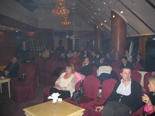22avril 2007 : la soirée des résultats au Capital Club