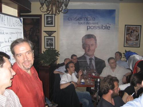 Soirée élections second tour : ambiance au Bistrot