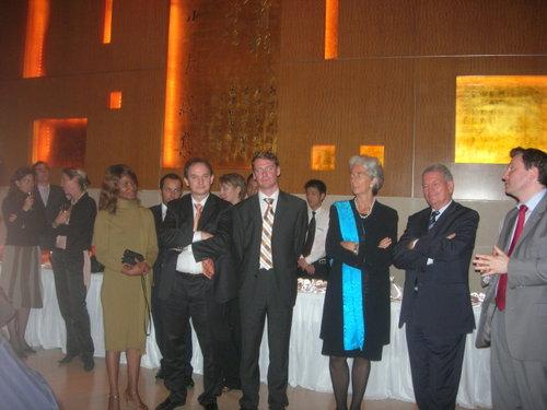 Christine LAGARDE et le Sénateur FERRAND
