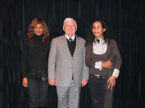 Jacqueline NIZET, le Sénateur Guerry et Bessora