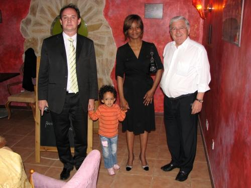 La famille NIZET et le Sénateur GUERRY