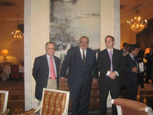 Dîner avec Philippe Séguin le 6 mai 2008.
