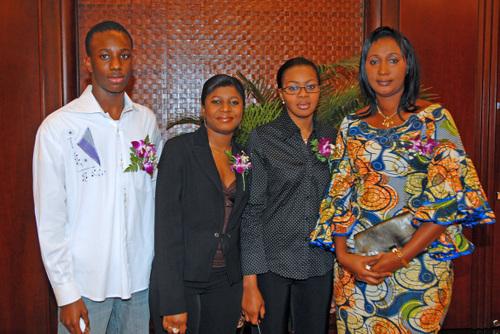 La délégation de la Guinée