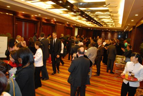 Les invités affluent : 160 au total