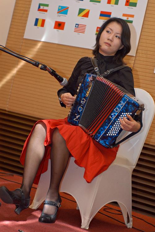 Et l'accordéon exulte...