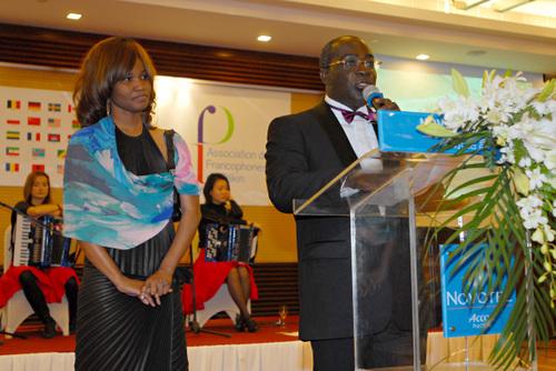Jacqueline Nizet, Secrétaire Générale et le discours du Président