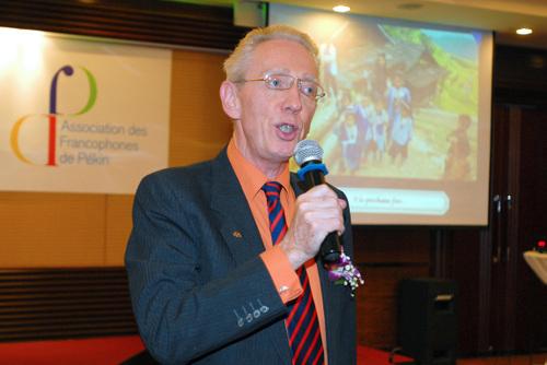 Gilbert Van de Kherkove, Membre du bureau