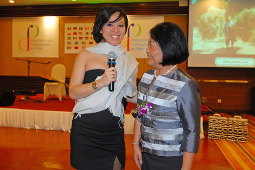 Madame l'Ambassadeur du Royaume du Cambodge.