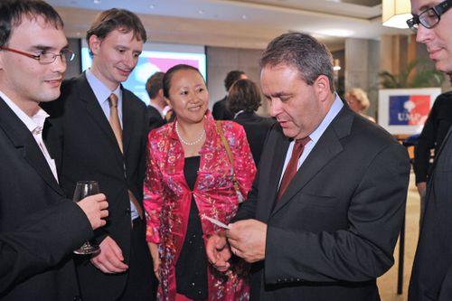 Avec Guillaume et son épouse chinoise