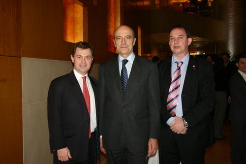 Marc, Alain Juppé et Francis