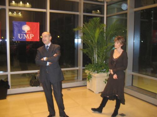 Alain Juppé et son épouse Isabelle