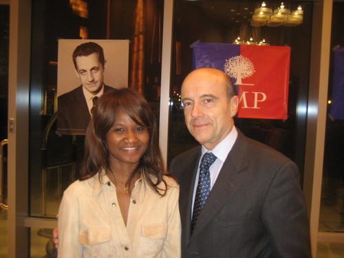 Alain Juppé et Jacqueline NIZET