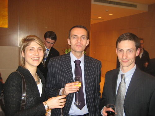 Adeline, Frédéric et Pierre-Antoine
