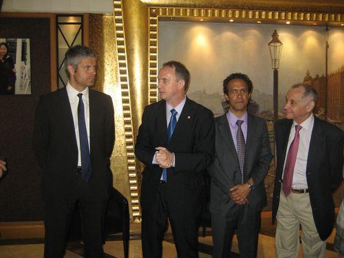 Avec le délégué UMP Chine Jacques Jobard