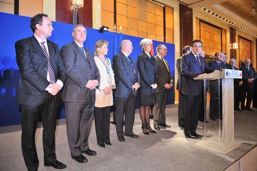 Les parlementaires de la délégation.
