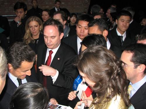 Le cadeau de la section UMP de Pékin au Président