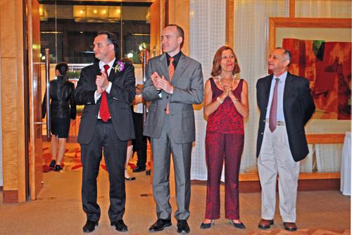 Francis, Patrick, Elisabeth et Jacques