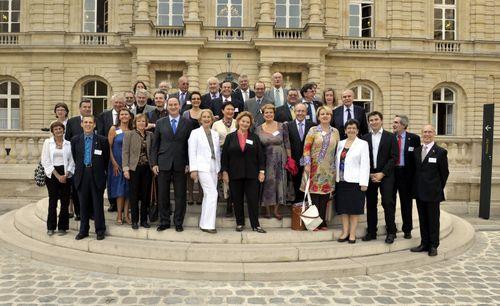La commission des Affaires Culturelles au Sénat.