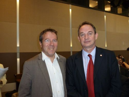 Avec Martin Hirsch.
