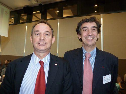 Avec Serge Mostura, Directeur du Centre de Crise.