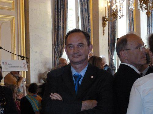 Réception au Quai d'Orsay.