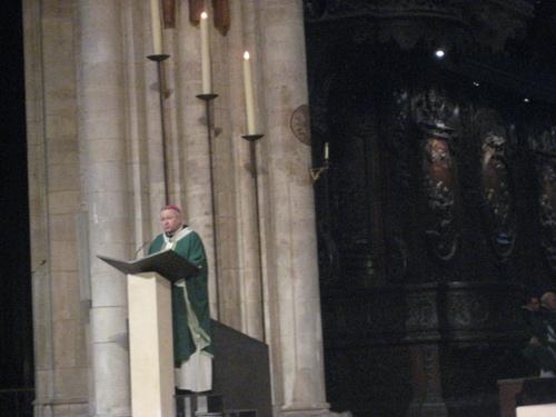 messe à Notre Dame en l'honneur des français de l'étranger