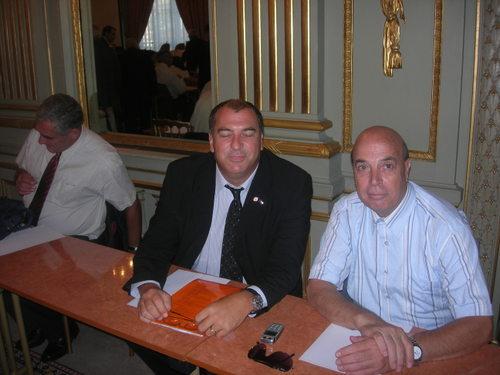 Robert Labro et Sylvain Semhoun