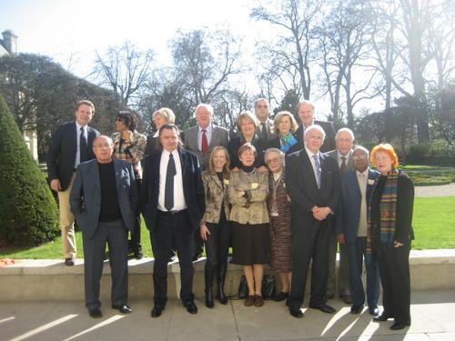 Photo de famille du mouvement RFE au sein de l'AFE