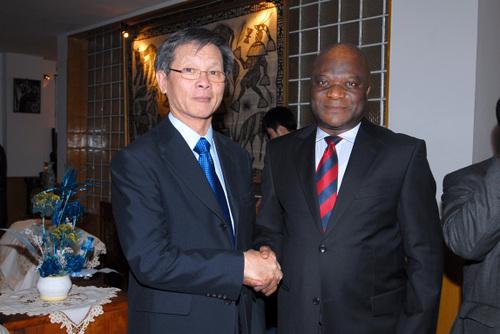 Ambassadeurs Ile Maurice et Gabon