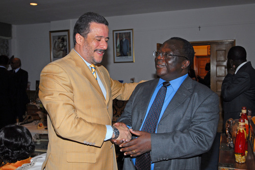 Ambassadeurs du Togo et du Cap Vert