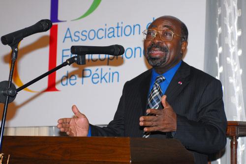 Le Doyen des Ambassadeurs, l'Ambassadeur du Cameroun