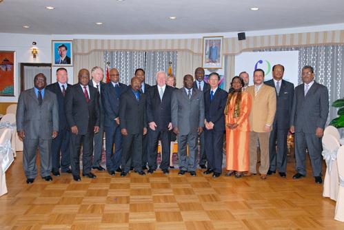 Les Ambassadeurs présents