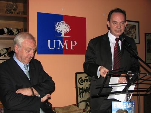 Le Sénateur Robert del Picchia et Francis NIZET
